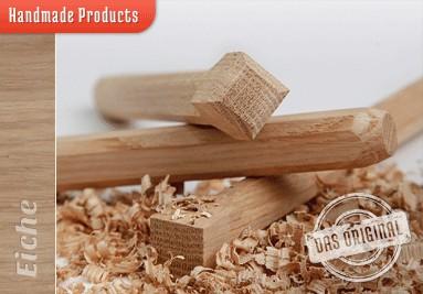 Holznagel Eiche gefast