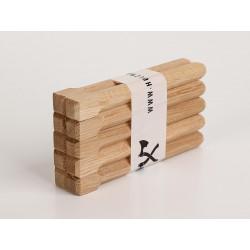 Holznägel - Eiche gefast - L 180 mm