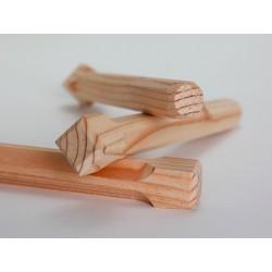 Holznägel - Lärche gefast - L 180 mm