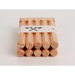 Holznägel - Lärche gefast - L 200 mm