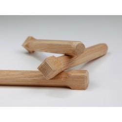 Holznägel - Eiche gefast - L 220 mm
