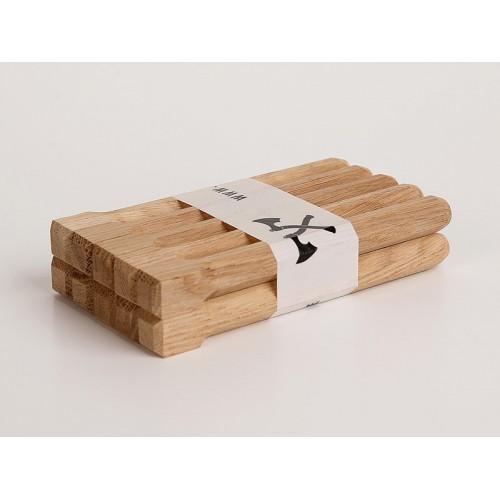 Holznägel - Eiche gefast - L 240 mm