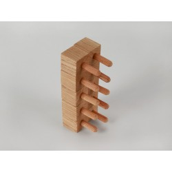 Ziernägel - Eiche standard - 20x20x20 mm