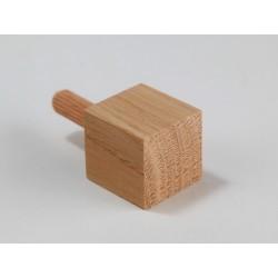 Ziernägel - Eiche standard - 25x25x25 mm