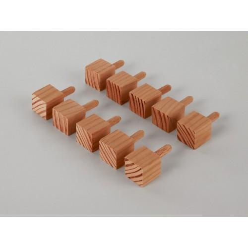 Ziernägel - Lärche standard - 20x20x20 mm