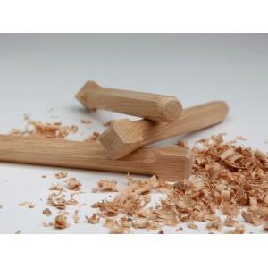 Holznägel - Eiche gefast - L 260 mm