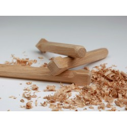 Holznägel - Eiche gefast - L 160 mm