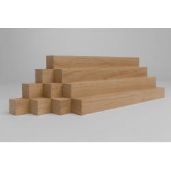 10er-Set Holzleiste - Eiche gehobelt -...